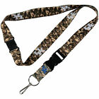 NCAA College Pick Your Team Real CAMO Camouflage Break Away Lanyard Keychain