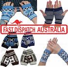 Wrist Band Hand Warmer Fingerless Arthritis Cuffs Computer Gloves Mittens