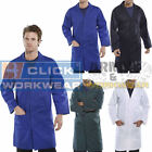 Click Lab Coat Laboratory Warehouse Workwear Overall Doctors Students Lab Work