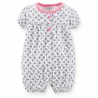 Carters 9 18 24 Months Anchor Romper Creeper Baby Girl Clothes Cotton