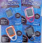 SUDOKU Electronic Touch Screen Logic Puzzle LCD Travel Carabiner Stylus built in