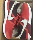 Nike Air Pegasus 83 30 Red Clay Grey Burgundy Roshe  599482 600 Sz 10