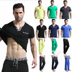 Fashion New Men's Male Soft Cotton Loose Top Shorts Long Pants Tracksuit M/L/XL