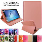 Universal Leather Wallet Flip Smart Case Cover For 7