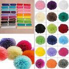 """19 Colors Wedding Party Home Birthday Tissue Paper Flower Balls Décor 8"""" 10"""" 14"""""""