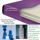 QUEEN 70% Waveless Waterbed Mattress-FREE Liner or 4 bottles of Cond-You pick!!