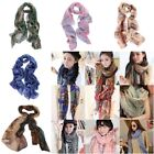 FL Womens Fashion Trendy Bohemian Long Print Scarf Wrap Ladies Shawl Large Scarf
