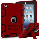 Kids ShockProof Rubber With Hard Stand Case Cover For iPad 2 3 4 ipad mini Air