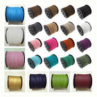 3mm Faux Suede Cord Leather Jewellery Making Beading Flat Thread String
