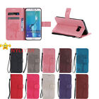 PU Wallet Stand Flip Leather Case Cover ForSamsung Galaxy S5/6/7 Edge Note5 A310