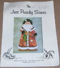"Libby Sturdy ""Just Peachy Santa"" Needlepoint Canvas, Guide, Charms & Threads"