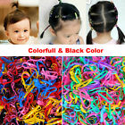400 X New MINI Elastic Rubber Rope Fashion Hair Bands Ties hair band Women Baby