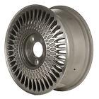 01646 Factory, OEM reconditioned 15X6 Alloy Wheel, Machined and Silver