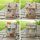 Women Canvas Shoulder Mini Small Purse Cross Body Tote Travel Satchel Bag Pouch