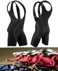 Men's Women Cycling Bicycle Bike Bib Shorts Padded Braces 3D GEL Pants S~XXL DH