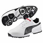 New 2016 Puma Golf Ace Golf Shoes White/Black/Red Choose-Size-Width-Waterproof