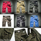 Trendy Summer Mens Casual Short Pants Army Cargo Camouflage Shorts Overall Pants