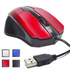 MOUSE OTTICO 3D USB 3.0 2.0 1.1 1600 DPI CON FILO CAVO PC LINUX WINDOWS MAC