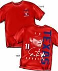 Texas Rangers Yu Darvish Signature Style Red T-Shirt - Adult Sizes Brand New