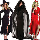 popular Witch Sexy Sassy Ladies Womens Halloween Fancy Dress Costume