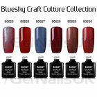 Bluesky CRAFT CULTURE Collection UV/LED Soak Off Gel Nail Polish 10ml FREE P&P