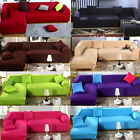 Fashion L Shape Stretch Elastic Fabric Sofa Cover Sectional /Corner Couch Covers