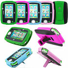 Premium PU Leather Cover Case Range For Kids Leapfrog Leappad 3 Green Blue Pink