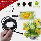 1-5M 6LED Waterproof 2 in 1 USB Endoscope Waterproof Borescope Inspection Camera