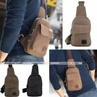 Men Canvas Bag Fashion Messenger Bag Shoulder Bodycross Backpack Handbag Wallet