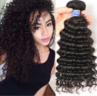 1 Bundle Deep Wave Brazilian Hair Curly Weave Human Hair Unprocessed Hair 100g