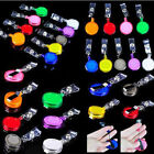 Lot 20 ID Badge Holder hold Reel Retractable Key Clip Wholesale Price