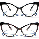 Classic Retro Fashion Cat Eye Clear Lens Glasses Womens 60's Vintage Inspired