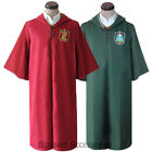 K207 Harry Potter Quidditch Robe Boys Kid Book Week Costume Gryffindor Slytherin