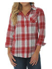 NCAA Alabama Crimson Tide Women's Boyfriend Flannel Plaid Shirt