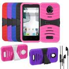 For Straight Talk Alcatel Pixi Avion Case Heavy Duty Cover Headphone Earphone