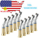 10 NSK Type Dental Slow Low Speed Contra Angle Handpiece E-type Yabangbang-G USA