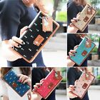 Fashion Women PU Leather Wallet Long Card Holder Handbag Bag Clutch Purse N98B