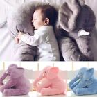 Baby Soft Plush Elephant Sleep Pillow Kids Lumbar Cushion Toys Large Size N98B