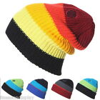 FL Men Beanies Knit Hat Women Caps Warm Ski Rainbow Colour Winter New