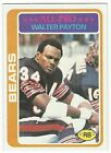 1978 TOPPS FOOTBALL #200 WALTER PAYTON - EXCELLENT+