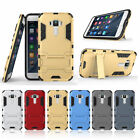 NEW 2in1 Design Combo Armor Heavy Duty Shockproof Stand Phone Cover Case