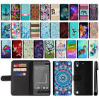 For HTC Desire 530 630 Design Flip Wallet Card Leather POUCH Case Cover + Pen