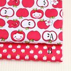 50cm*160CM Cute Apple 100%cotton fabric Quilting Quilt Clothes Bedding Sewing
