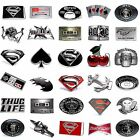 BBUM0404 MANY STYLES HOROSCOPE / MUSIC / SUPERHERO / DRINK / LETTER BELT BUCKLE