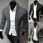 2016 Men's Casual Slim Fit Knit V-Neck Cardigan Stylish Sweater Coat Jacket Tops