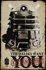 Doctor Who Maxi Poster Daleks Want you Dr Who 61x91,5 cm