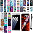 For Samsung Galaxy Note 7 N930 TPU SILICONE Soft Protective Case Cover + Pen