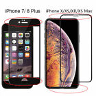 3D Tempered Glass Curved Full Cover Screen Protector For iPhone X/ 8/7/Plus/6s/6 фото