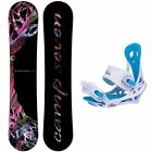 New Camp Seven Featherlite Women's Snowboard Package With Siren Mystic Bindings