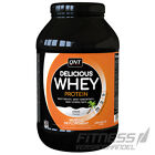 (29,69€/kg) QNT Delicious Whey Protein Eiweiss 1kg/908g Dose + Gratis Shaker